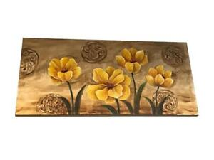 3D Yellow floral Painting - cheap Price in Vaughan (BD-1756)