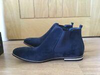 Men's Navy Chelsea Boots