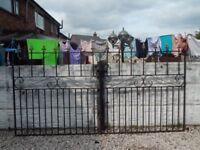 Wrought iron gates / driveway gates / garden gates / metal gates / steel gates/ double house gates