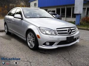 2008 Mercedes-Benz C-Class 3.5L-AWD- 1 Year 2 Star Wty Included