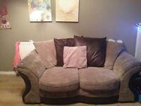 Sofa for sale brilliant condition