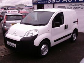 2010 CITROEN NEMO X HDI 1399cc PANEL VAN WITH SIDE LOADING DOOR *12 MONTHS M.O.T* (DRIVE AWAY TODAY)