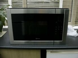 NEFF BUILT IN MICROWAVE H11WE60N0G STAINLESS STEEL
