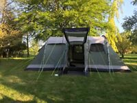 Montana 6 tent with ground sheet and carpet