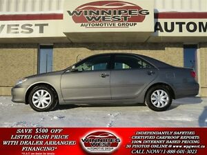 2006 Toyota Camry LE EDITION, LOADED LOCAL TRADE, LOW KMS!!