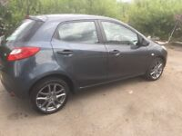 £30 ROAD TAX DIESEL MAZDA 2 2009 FULL YEAR MOT EXCELLENT CONDITION
