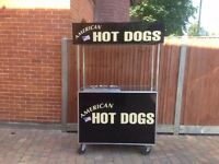 Catering hot dog cart for sale . Good earner .easy money .hire it out at weddings. Fetes. Carboots.