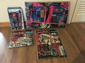 New - Monster high colouring sets.