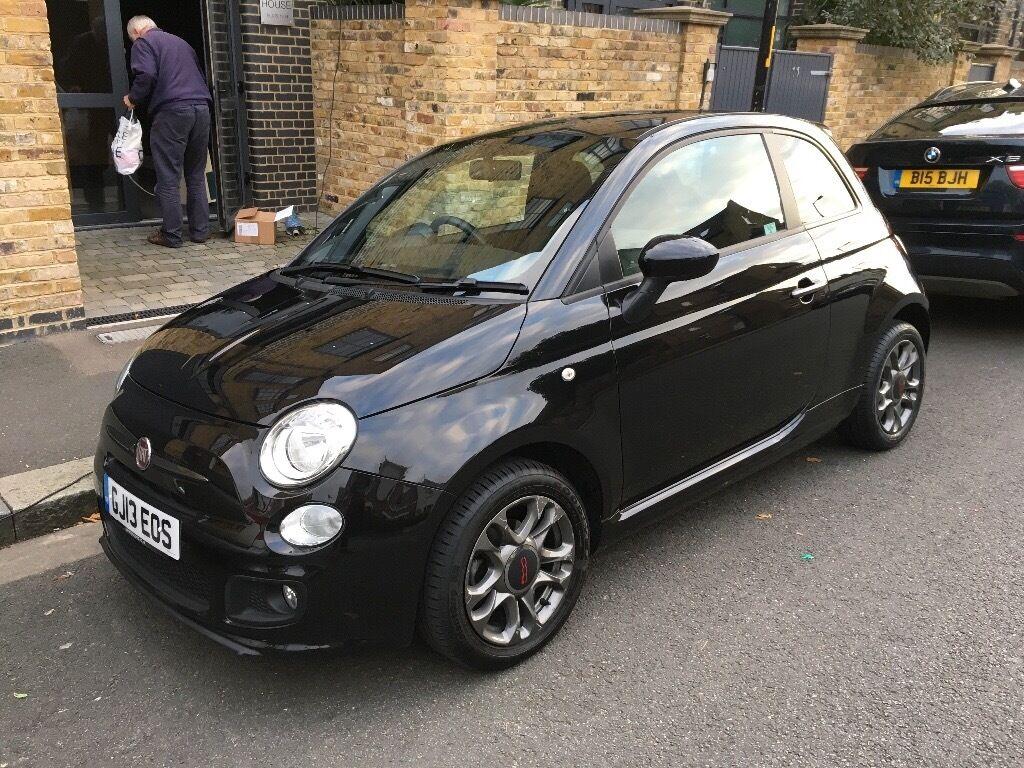Fiat 500 Sport - Black - great condition | in South East London, London | Gumtree