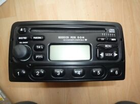 FORD Focus MK1 Mondeo 6000 CD Radio Stereo Player + CODE