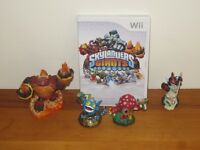 Wii Skylander Giants Starter Game with 4 Characters
