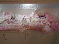 girls clothes bundle 0 - 18 month some Designer