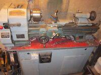 viceroy Metal lathe good working condition rebuilt motor