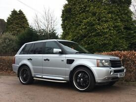 2006 RANGE ROVER SPORT 2.7 TDV6 SILVER NATIONWIDE DELIVERY WARRANTY & CARD FACILITY AVAILABLE