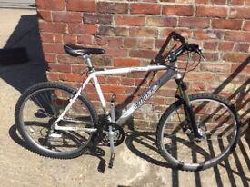 "Amaco 20"" Aluminium Framed Mountain Bike, Disc brake, VGC."