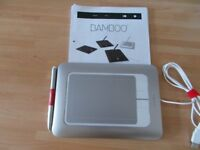Bamboo Fun Graphics Tablet Model CTH-461
