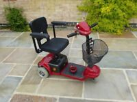 Mobility Scooter - 3 wheeler - easy to transport