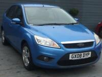Ford Focus 1.6 Petrol automatic HPI clear
