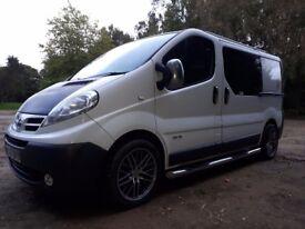 2007 Nissan Primastar not vivaro ,trafic day van may px large van
