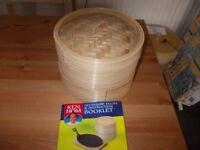 New Ken Hom bamboo steamer