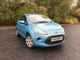 2009 FORD KA STYLE BLUE GREAT RUN AROUND OR IDEAL FIRST CAR MUST SEE 63,000 MILES £3250 OLDMELDRUM