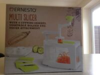 Multi slicer and juicer used once as new in box