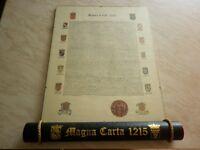 Magna Carta Scroll