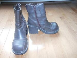 Leather boots reduced to $55