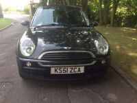 2001 MINI ONE 1.6 (99 MILES ONLY) A MUST SEE/ LONG MOT : 05/2017