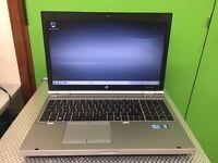 HP ELITEBOOK 8560P laptop I5 PROCESSOR 320GB HARD DRIVE