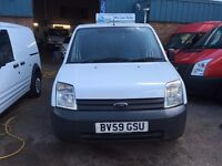 FORD TRANSIT CONNECT VAN 1.8TDCI 2009/59REG RECARO SEATS 121K £1990 NO VAT