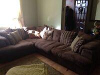 Large corner sofa, very good condition, smoke free home.