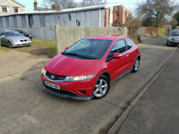 2009 Honda Civic 1.4 I -vtec TYPE S,1.4 petrol,6 speed manual,1 owner from new