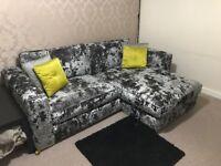Sofology Crushed Velvet Glastonbury Sofa