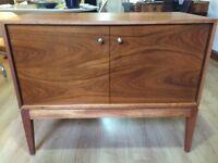 "Retro afromosia Mid Century Modern ""Uniflex"" furniture unit, sideboard"
