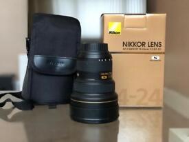Nikon 14-24mm wide angle lens