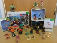XBox 360 Disney Infinity & Marvel Super Heroes 2.0 Bundle (20 characters)