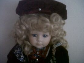 "LEONARDO PORCELAIN COLLECTORS DOLL ""LILY"""