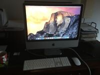 "24"" iMac 4GB RAM 2008 model. Very good condition"