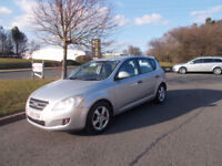 KIA CEED 1.4 GS HATCHBACK NEW SHAPE 2009 STUNNING SILVER 45K MILES BARGAIN £2150 *LOOK* PX/DELIVERY