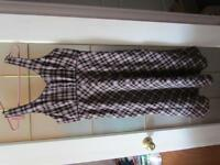 Ladies size large plaid jumper