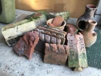 SELECTION OF STONE/TERRACOTTA ITEMS