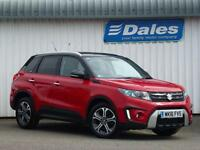 Suzuki Vitara 1.6 Diesel SZ5 [rugged Pack] 5Dr Estate (bright red & black) 2016