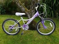 Kids, child's, girls, bike, cycle x2