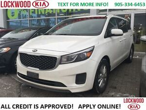 2016 Kia Sedona LX+ REARVIEW CAM, POWER DOORS