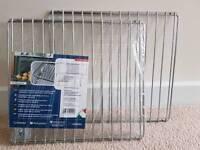 Chromium-plated shelfs