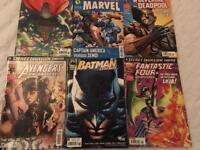 Collectible marvel comics £10 ono