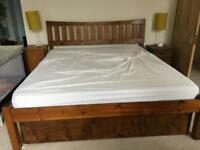 Warren Evans super king bed frame (and mattress)