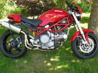 Ducati S2R 800 Monster, low mileage, perfect throughout with some nice aftermarket mods.