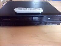 DAEWOO dvd recorder with video cassette recorder